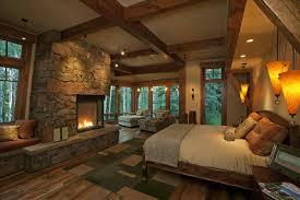 Traditional Master Bedroom - master bedroom with fireplace yakunina info