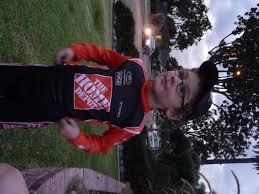 race car halloween costume ken and shawna gramps and grandy u0027s gang