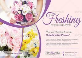 wedding flyer wedding flower supplier flyer by katzeline graphicriver