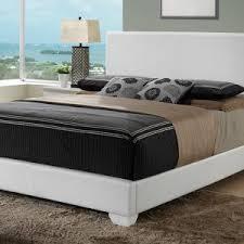 bedroom stylish upholstered bed frame for decorating modern