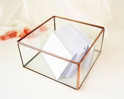 wedding gift holder wedding envelope holder wedding card box envelope holder glass box