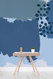 33 best home office ideas images on pinterest wallpaper murals blue abstract painting wall mural