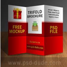 brochure psd template 3 fold tri fold brochure psd free template psddude