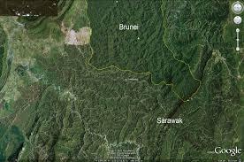 Brunei Map Google Earth Reveals Stark Contrast Between Sarawak U0027s Damaged
