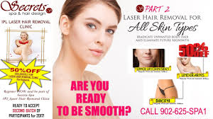 laser hair removal secrets spa and hair design