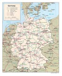 Ulm Germany Map by Teutonic Order German Websites