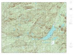 Usgs Topographic Maps Mytopo Piseco Lake New York Usgs Quad Topo Map