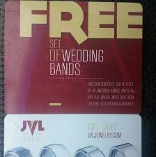 jvl wedding bands jvl jewelry gift card for free set of wedding bands poshmark