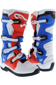 alpinestar tech 3 motocross boots alpinestars white red blue tech 5 mx boot alpinestars