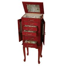free standing jewellery armoire uk jewelry armoire with lock and key attractive locking walnut box