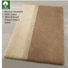 Cotton Bath Rugs Non Slip Luxury Cotton Bath Rugs In Extra Large Sizes
