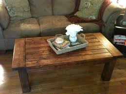 how to make a simple coffee table home design ideas