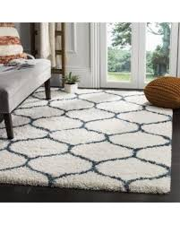 Safavieh Rugs Review Minimalist Ivory And Blue Area Rugs On Winter Bargains