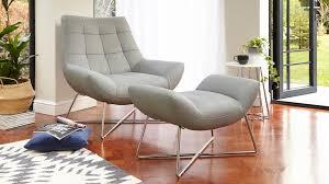 armchair modern modern leather armchair brushed metal cross base uk
