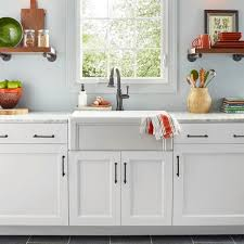 exterior paint on my kitchen cabinets behr 1 gal white urethane alkyd semi gloss enamel interior