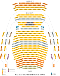 seating map theatrecalgary seating map