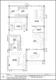 North Facing Floor Plans 20 X 50 North Facing Modern House Plan 3bhk Gharexpert Comnorth