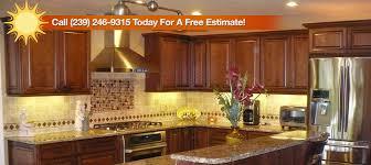 Sunrise Kitchen Cabinets Sunrise Remodeling Fort Myers Cape Coral Bonita Springs