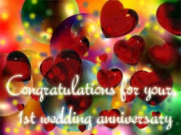 1st Anniversary Wishes Messages For Wife 1st Anniversary Wishes Jpg Messages Congratulations