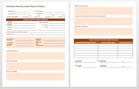 incident report form template word incident report form template word 2 best and professional