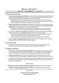 Data Warehouse Sample Resume by Cio U0026 Cto Sample Resume By Award Winning Executive Resume Writer