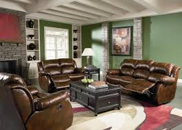 brown leather sofa chair tags brown leather recliner sofa set