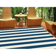 Navy And White Outdoor Rug New Navy Stripe Indoor Outdoor Rug Startupinpa