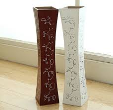 free shipping large floor wood vase decoratives artificial flower