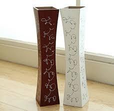 Large Wood Floor Vase Free Shipping Large Floor Wood Vase Decoratives Artificial Flower