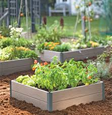 Raised Flower Bed Corners - a guide to raised beds gardening in raised beds square foot