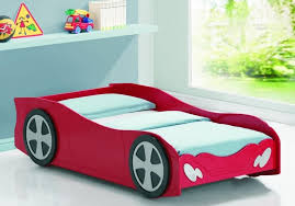 Little Tikes Storage Cabinet Bedroom Mesmerizing Red And Blue Car Bed Plan For Kids Featuring