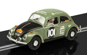 volkswagen classic car scalextric vw beetle model lanuched classic car magazine