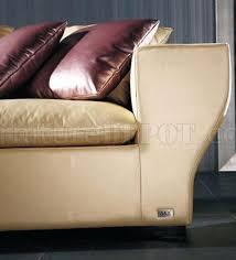 Full Top Grain Leather Sofa by Full Top Grain Leather Modern Elegant Sectional Sofa