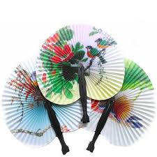 folding fans portable classic fan vintage folding fans circular