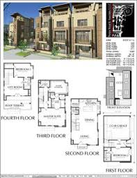townhouse plan e0211 set up lower level as separate studio