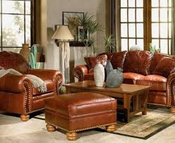 rustic living room furniture ideas with brown leather sofa rustic leather living room furniture at modern classic home designs