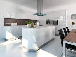 Gloss White Kitchen Cabinets Plain Kitchen Cabinets High Gloss White L And Decor