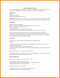 graduate resume example 7 fresh graduate resume sample fancy resume fresh graduate resume sample 5 jpg