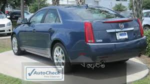 cadillac cts 2009 price cts 2009 cadillac cts blue performance sunroof 3 6l v6
