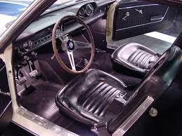Mustang Interior Accessories Mustang Specs 1964 65 Ford Mustang