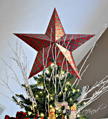 cardboard christmas tree top star tutorial and template by