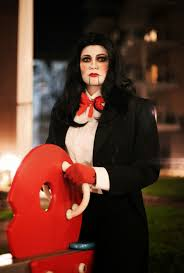 Saw Costume Chrix Design Happy Halloween Billy Puppet Makeup Saw