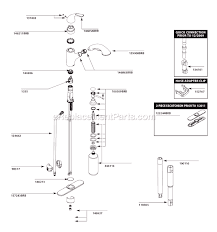 Replacing Moen Kitchen Faucet Moen Kitchen Faucet Drawing Moen Kitchen Faucet Repair Diagram