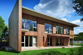 contemporary wooden house design larix home building furniture
