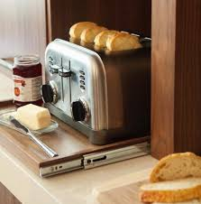 Toaster Ideas 42 Creative Appliances Storage Ideas For Small Kitchens Digsdigs