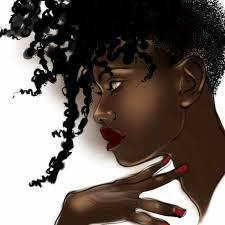 beautiful cartoon women art pin by crystal lindsay on my black is beautiful pinterest