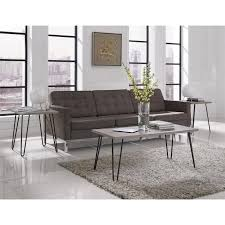 coffee table marvelous acrylic coffee table leather ottoman