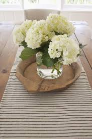 floral centerpieces for kitchen tables nothing like a big hydrangea bunch on the table top beautiful