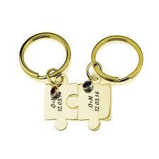 personalized birthstone keychains personality birthstone keychain new arrival friendship keychains