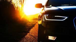 audi headlights audi a4 cars headlights sunset walldevil